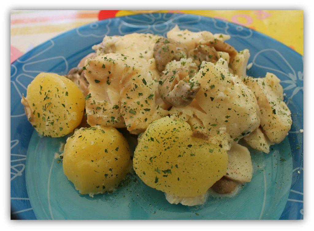 cabillaud aux pommes de terre