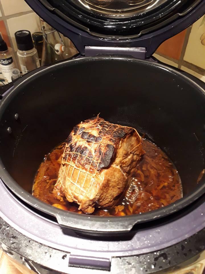 Roti De Porc Au Miel Recettes Cookeo