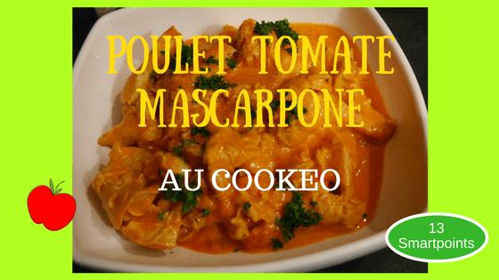 poulet mascarpone au cookeo
