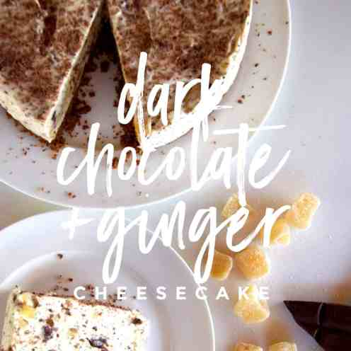 dark chocolate and ginger cheesecake (3)