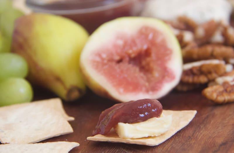 fig paste recipe, homemade fig paste