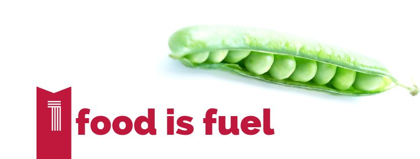 1. Food is fuel