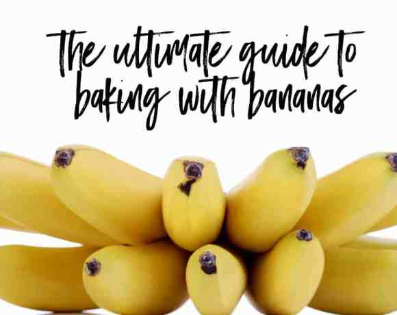 the ultimate guide to baking with bananas