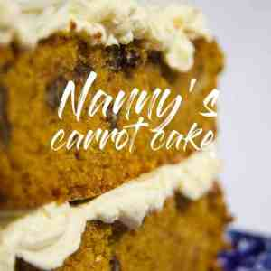 Carrot cake recipe, old fashioned carrot cake