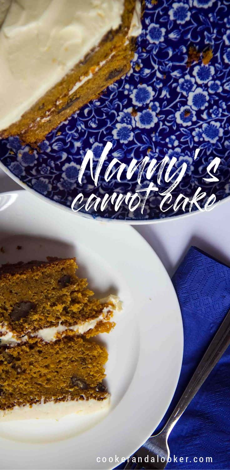 There\'s something special about a slice of carrot cake - it always feels like it\'s doing you good. This recipe has been in our family for forty years.