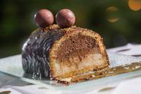 Bche de Nol Chocolat et poires  Cookerei by Salom