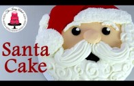 Buttercream Santa Cake – Cooking Videos.