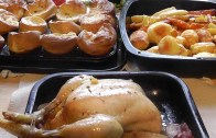 Christmas Roast Chicken Dinner Recipe – Cooking Recipes.