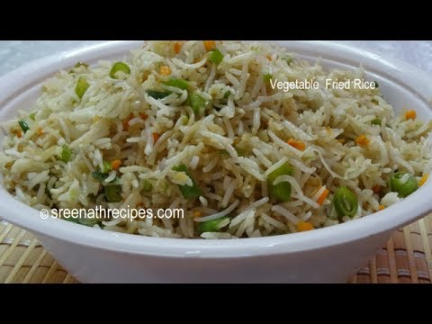 Vegetable Fried Rice – Cooking Recipes.