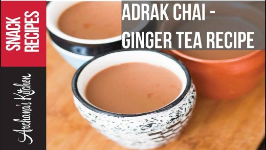 Ginger Tea – Adrak Chai Recipe