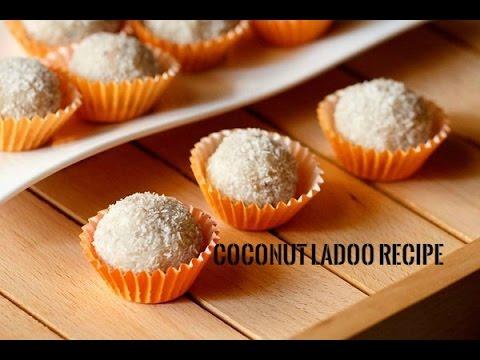 Coconut ladoo recipe – Easy coconut ladoo recipe with condensed milk