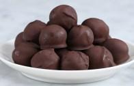 Dark Chocolate Peanut Butter Balls