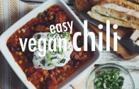 EASY VEGAN CHILI – hot for food