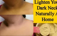 Skin Whitening For Dark Neck – Dark Neck Home Remedy – Simple Beauty Secrets