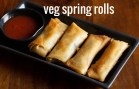 Veg spring rolls recipe – Vegetable spring rolls – Spring rolls recipe