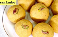 Besan Ladoo – Indian Sweet Recipes – How to make Besan laddu
