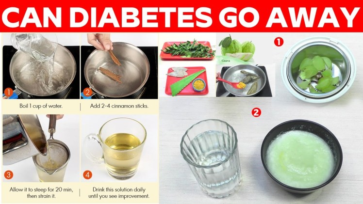 Can Diabetes Go Away – By Using These Remedies