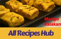 Mango Kalakand  easy recipe