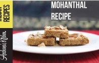 Mohanthal Recipe – A Traditional Gujarati Sweet – By Archana's Kitchen