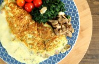 Mushroom And Cheese Omelette Recipe – Perfect Cheesy Omelette – The Bombay Chef – Varun Inamdar