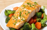 One – Pan Teriyaki Salmon Dinner