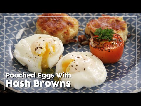 Poached Eggs – Hash Browns – Quick Breakfast Recipe