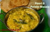 Poori Masala Recipe – Puri Masala recipe – How to Make Puffy poori