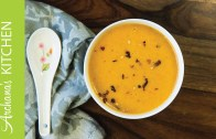 Roasted Red Pepper Pumpkin Soup Recipe by Archana's Kitchen