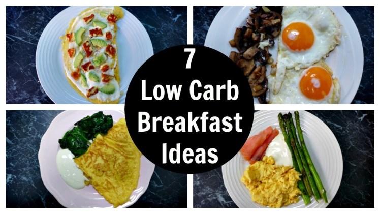 7 Low Carb Breakfast Ideas – A Week Of Keto Breakfast Recipes