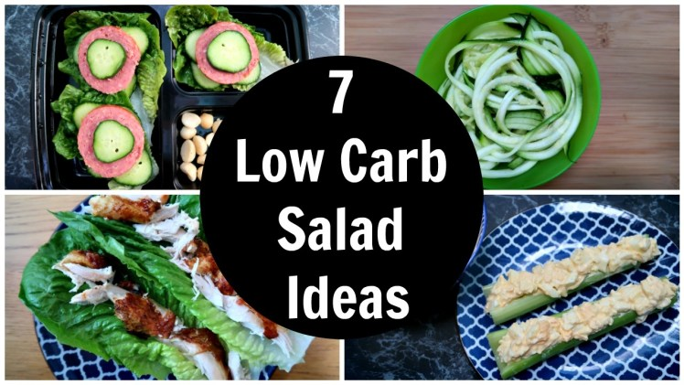 7 Low Carb Salad Ideas – A Week Of Easy Keto Diet Salad Recipes