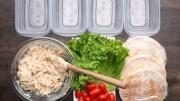 Healthy Meal – Prep Chicken Salad Pockets