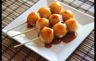 Mitarashi Dango Recipe  Japanese Cooking 101