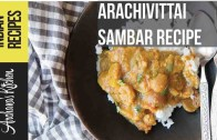 Arachuvitta Sambar Recipe – South Indian Recipes