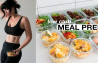MEAL PREP WITH ME: Low Carb – Mains, Breakfast + Snack // Rachel Aust