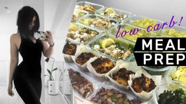 MEAL PREP WITH ME: 7 Lower Carb Ideas – Rachel Aust