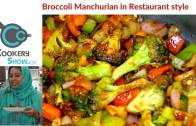 Eggless Broccoli Manchurian – Veg Manchurian Recipe