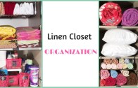 How To Organize A Small Linen Closet – Linen Closet Organization