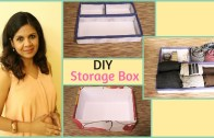 DIY Storage Box – Step By Step Tutorial