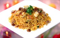 Chat Pada Paneer Pulav & Chilli Soya Pepper Fry Recipe