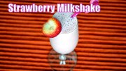 Strawberry Milkshake – Easy and Fresh Milkshake Recipe