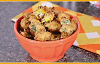 Corn Fritters – Easy Indian Snack Recipes – Sruthi's Kitchen
