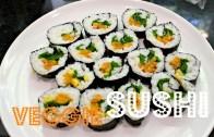 EASY SUSHI ROLLS – Vegan & Low-Fat – Cheap Lazy Vegan