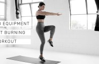NO EQUIPMENT FAT-BURNING WORKOUT [20mins – Rachel Aust