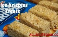 Rice Krispies Treats – How to make Rice Krispie Treats