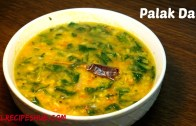 Spinach Dal – Palak Dal – Palakura Pappu – Keerai Sambhar