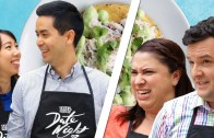 Couples Compete In The Crab Tostada Challenge • Tasty Date Night // Presented By The 2017 RAV4