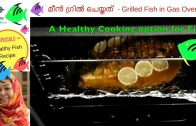 Grilled Fish in Gas Oven I CookeryShow