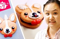 I Tried To Re-Create These Corgi Macarons