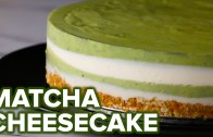 Matcha Layered Cheesecake