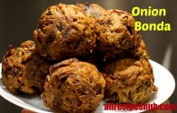 Onion bonda | Onion fritters | Best evening Snack recipe